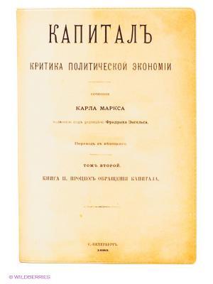 Обложка для паспорта Капиталъ Mitya Veselkov. Цвет: желтый
