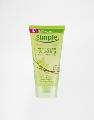 Simple Тонизирующий гель для умывания Kind To Skin 150 мл. Цвет: kind to skin
