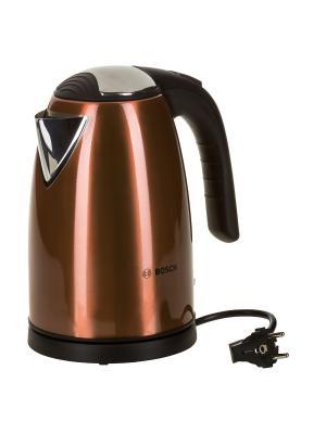 Чайник TWK7809 1.7л. 2200Вт Bosch. Цвет: бронзовый