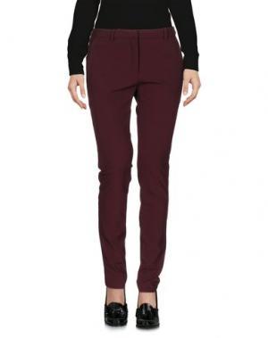 Повседневные брюки KATIA G.. Цвет: красно-коричневый