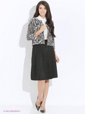 Блуза MONOROOM. Цвет: серый