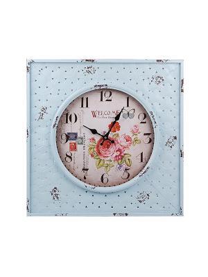 Часы настенные PATRICIA. Цвет: голубой