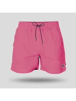 Шорты Пляжные JOHN FRANK. Цвет: розовый