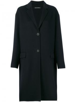 Пальто кокон Iris Von Arnim. Цвет: чёрный