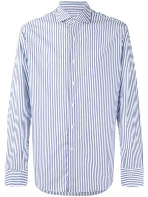 Striped shirt Alessandro Gherardi. Цвет: синий