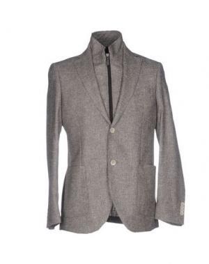 Пиджак LUIGI BIANCHI Mantova. Цвет: коричневый