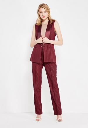Комплект жилет и брюки Mazal. Цвет: бордовый