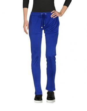 Повседневные брюки CAPOBIANCO. Цвет: ярко-синий