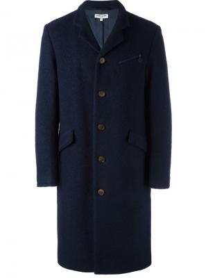 Однобортное пальто Opening Ceremony. Цвет: синий