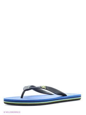 Шлепанцы SPRAY M SNDL DC Shoes. Цвет: лиловый
