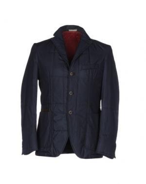 Куртка ANGELO NARDELLI. Цвет: темно-синий