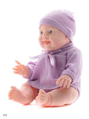 Кукла-пупс, Леночка 38см Lisa Jane. Цвет: фиолетовый