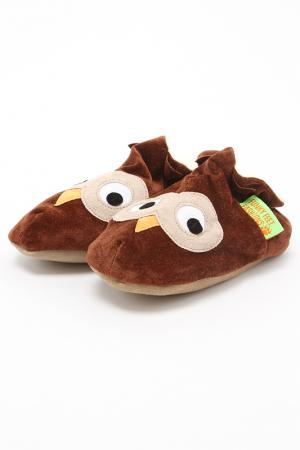 Туфли домашние Funky Feet Fashions™. Цвет: коричневый