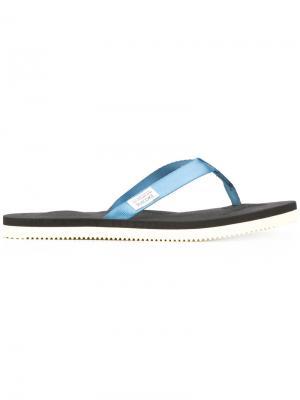 Flip flops Suicoke. Цвет: синий
