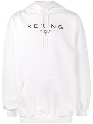 Толстовка Kersing с капюшоном Balenciaga. Цвет: белый