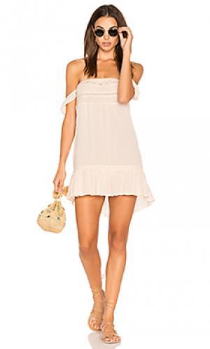 Мини платье isabella AUGUSTE. Цвет: румянец
