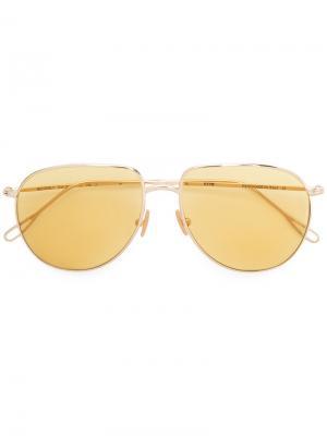 Солнцезащитные очки  Beverly Kyme. Цвет: металлический