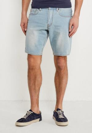 Шорты джинсовые Quiksilver. Цвет: голубой