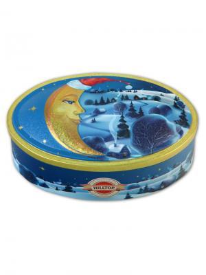Чай Hilltop Волшебная луна100 гр. овал. шкатулка луна, шт. Цвет: черный, зеленый