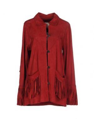 Пиджак BYDANIE. Цвет: красный