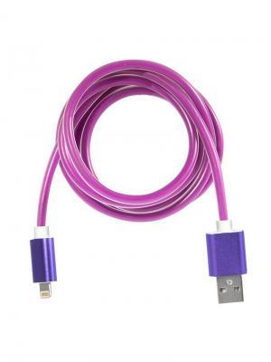 Дата-кабель Lightning IQ Format. Цвет: фуксия