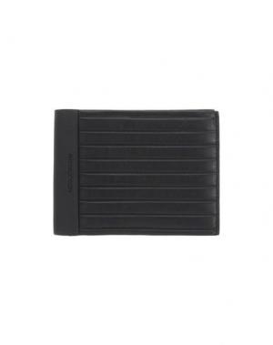 Бумажник MOMO DESIGN. Цвет: черный