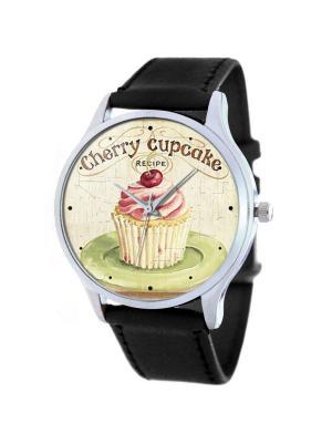 Часы Cupcake Tina Bolotina. Цвет: черный, персиковый, розовый