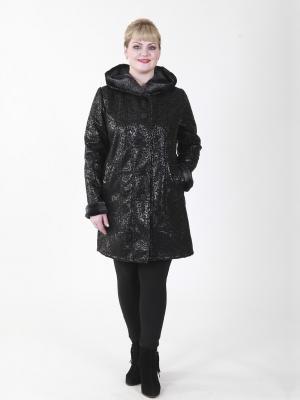 Пальто Джастин VIKO. Цвет: черный