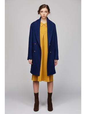 Пальто Play Fashion. Цвет: темно-синий