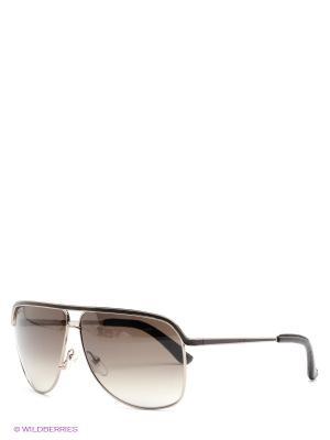 Солнцезащитные очки Salvatore Ferragamo. Цвет: темно-зеленый