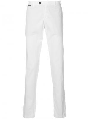 Straight leg trousers Eleventy. Цвет: белый