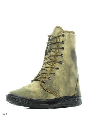 Кеды ШК обувь. Цвет: хаки