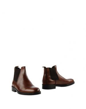 Полусапоги и высокие ботинки BORGO MEDICEO. Цвет: коричневый