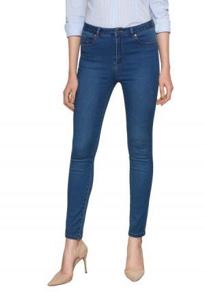 Брюки джинсовые Concept Club. Цвет: синий (индиго), синий (темно-синий)