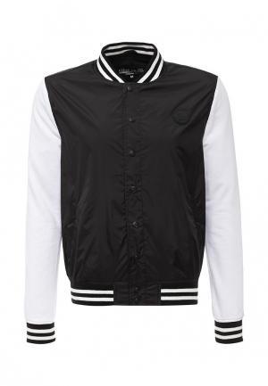 Куртка Fresh Brand. Цвет: черный