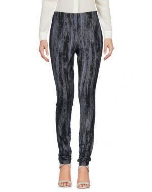 Повседневные брюки DONNA KARAN. Цвет: черный