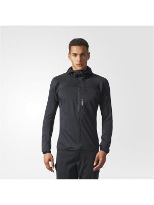 Толстовка TRACEROCK HO FL  BLACK Adidas. Цвет: черный