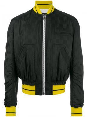 Куртка бомбер на молнии Haider Ackermann. Цвет: чёрный