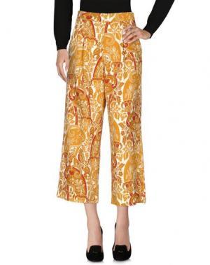 Повседневные брюки CAPRI. Цвет: охра