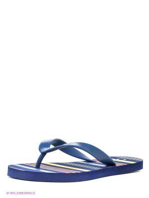 Пантолеты United Colors of Benetton. Цвет: синий, голубой