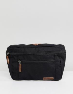Columbia Черная сумка-кошелек на пояс. Цвет: черный