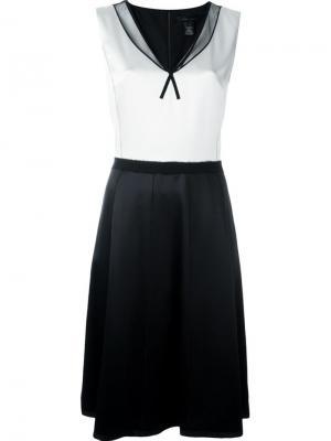 Платье А-образного кроя Marc Jacobs. Цвет: белый