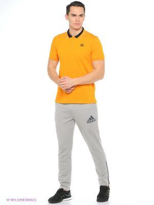 Футболка-поло ESS Polo Adidas. Цвет: оранжевый