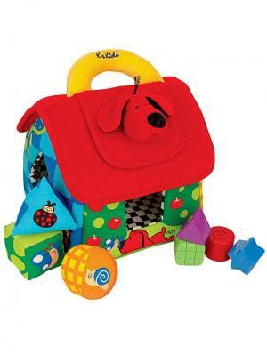 Развивающий домик K'S Kids. Цвет: красный (осн.), зеленый, голубой