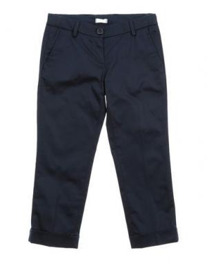 Повседневные брюки MICROBE. Цвет: темно-синий