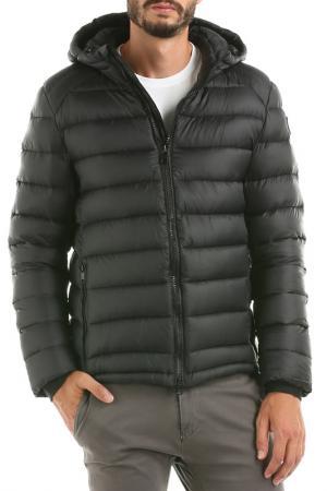Куртка с капюшоном Hot Buttered. Цвет: черный