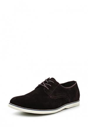 Туфли Quattrocomforto. Цвет: коричневый