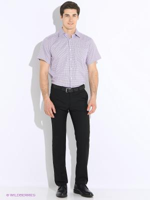 Рубашка с короткими рукавами Favourite. Цвет: фиолетовый