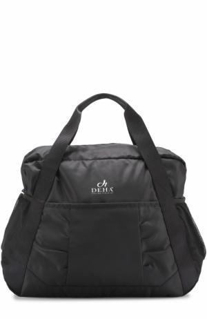 Спортивная сумка Deha. Цвет: черный