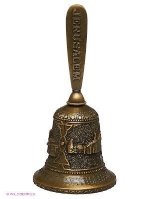 Колокольчик - Христианские святыни Израиля Bethlehem Star. Цвет: бронзовый
